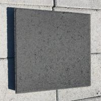 "12"" x 12"" Concrete Stepping Stones Charcoal"