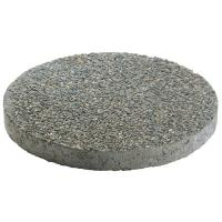 "14"" and 18"" Round Exposed Aggregate Stepping Stones"