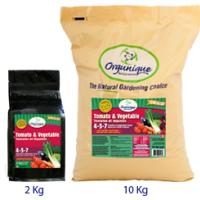 Orgunique Tomato and Vegetable Food - 10Kg 4-3-7